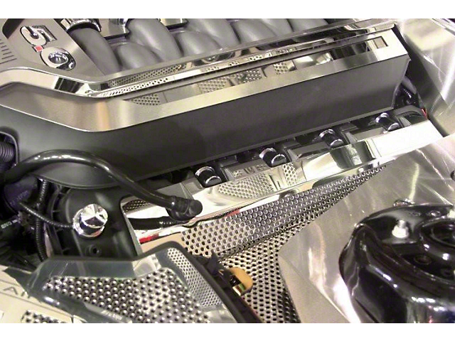Perforated Coil Covers w/ Cap - Polished (11-17 GT; 12-13 BOSS 302; 15-20 GT350, GT500)