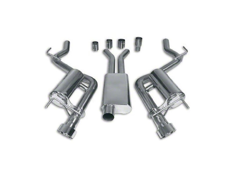 Cat-Back Exhaust (15-19 EcoBoost w/o Active Exhaust)