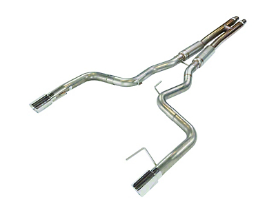 Pypes H-Bomb Cat-Back Exhaust w/ Polished Tips (15-17 GT Fastback)