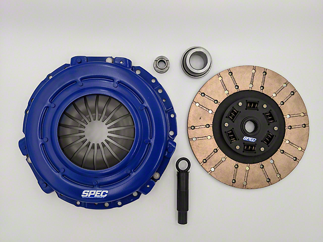 Spec Stage 3+ Carbon Clutch Kit - 10 Spline (Late 01-04 GT, Mach 1; 99-04 Cobra)