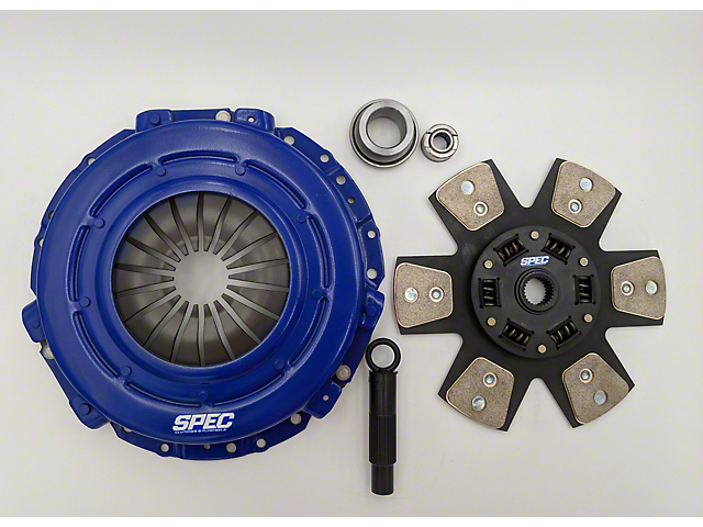 Spec Stage 3 Carbon Clutch Kit - 10 Spline (Late 01-04 GT, Mach 1; 99-04 Cobra)