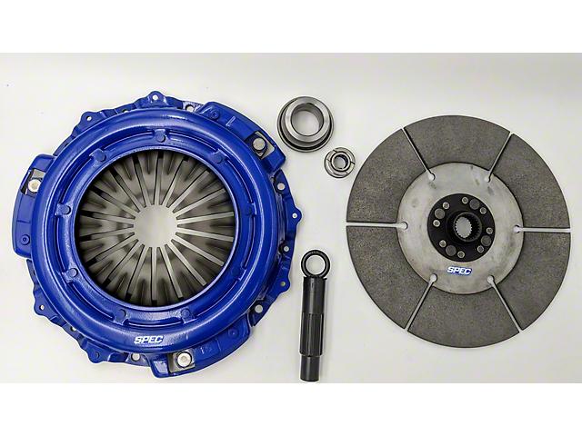 Spec E-Trim Super Twin Sintered Iron Clutch Kit w/ Flywheel - 26 Spline (11-14 GT500)