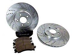 Baer Sport Brake Rotor and Pad Kit; Front (94-04 Cobra, Bullitt, Mach 1)