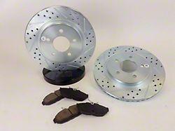 Baer Sport Brake Rotor & Pad Kit - Rear (05-10 GT)