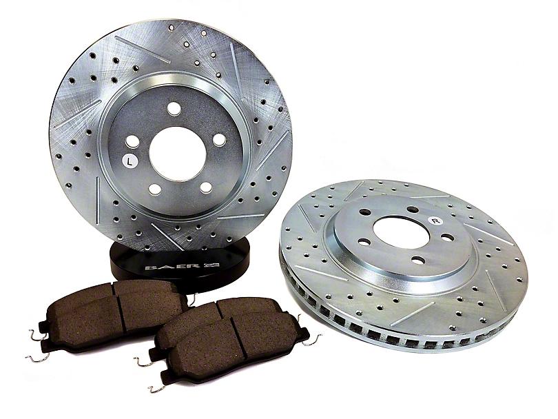 Baer Sport Brake Rotor & Pad Kit - Front (05-10 GT)