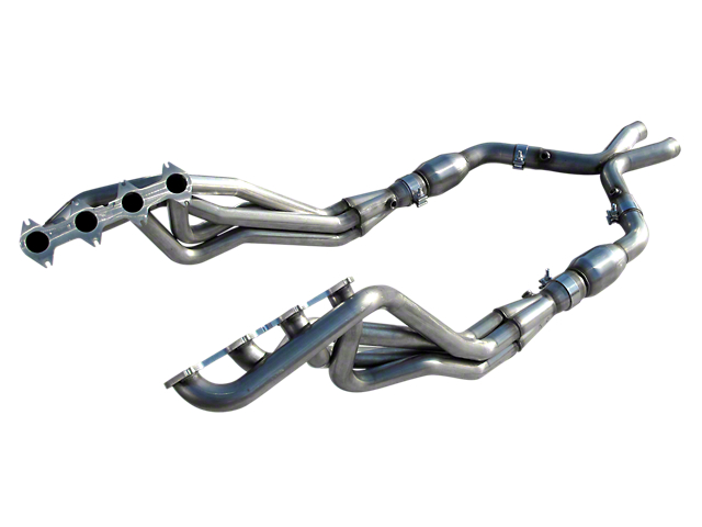 American Racing Headers 1-3/4-Inch Long Tube Headers with Catted H-Pipe (05-10 GT)