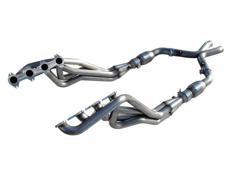 American Racing Headers 1-5/8 in. Long Tube Headers w/ Catted X-Pipe (05-10 GT)