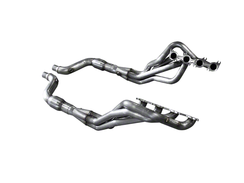 American Racing Headers 1-7/8 in. Long Tube Catted Headers - Direct Connection (15-17 GT)