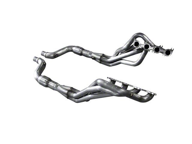 American Racing Headers 1-7/8-Inch Long Tube Headers; Catted; Direct Connection (15-17 GT)