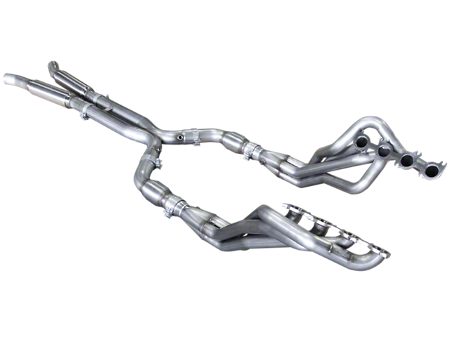 American Racing Headers 1-7/8 in. Long Tube Off-Road Headers w/ X-Pipe (15-18 GT350)