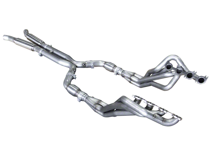 American Racing Headers 1-7/8 in. Long Tube Catted Headers w/ X-Pipe (15-19 GT350)