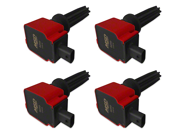 MSD Coil Packs - Red (15-20 EcoBoost)