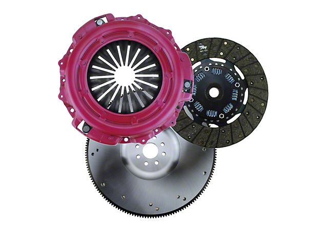 RAM HDX Organic Clutch Kit w/ Steel Flywheel; 23 Spline (11-14 V6)