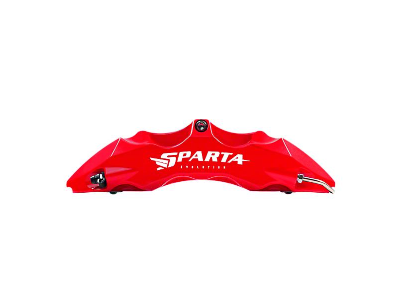 Sparta Evolution Saturn Front Big Brake Kit - Red (15-19 All)