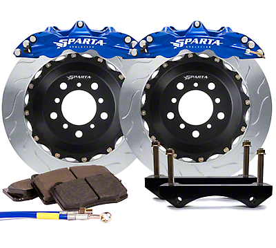 Sparta Evolution Triton-R Front Big Brake Kit - Anodized Signature Blue (15-18 All)