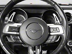 MMD Paddle Shifter Extensions; Silver (15-21 GT, EcoBoost, V6)