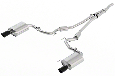 Ford Performance by Borla Sport Cat-Back Exhaust w/ Black Tips (2018 EcoBoost)