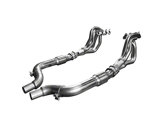 Kooks 1-3/4 in. Long Tube Green Catted Headers (15-19 GT)