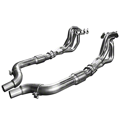 Kooks 1-7/8 in. Long Tube Green Catted Headers (15-18 GT)
