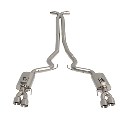 Kooks Cat-Back Exhaust w/ X-Pipe & Polished Tips (2018 GT)