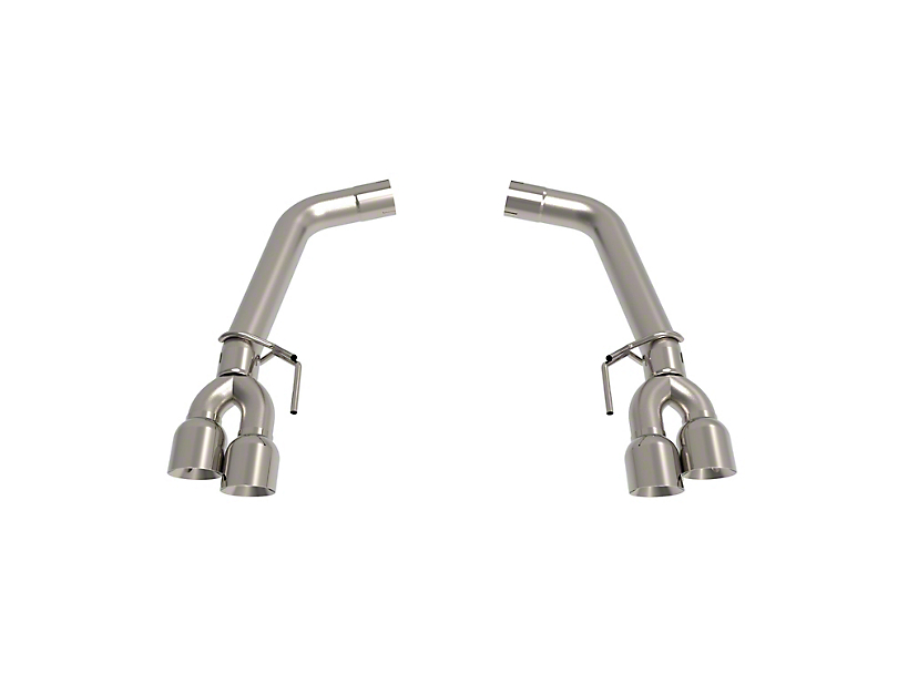 Kooks Muffler Delete Axle-Back Exhaust w/ Polished Tips (18-19 GT w/o Active Exhaust)