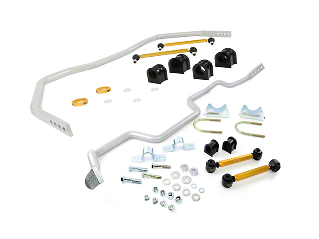Whiteline Adjustable Front & Rear Sway Bars w/ End Links (05-14 All)