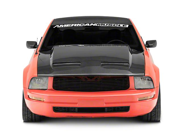 Anderson Composites Ram Air Hood - Carbon Fiber (05-09 GT, V6)