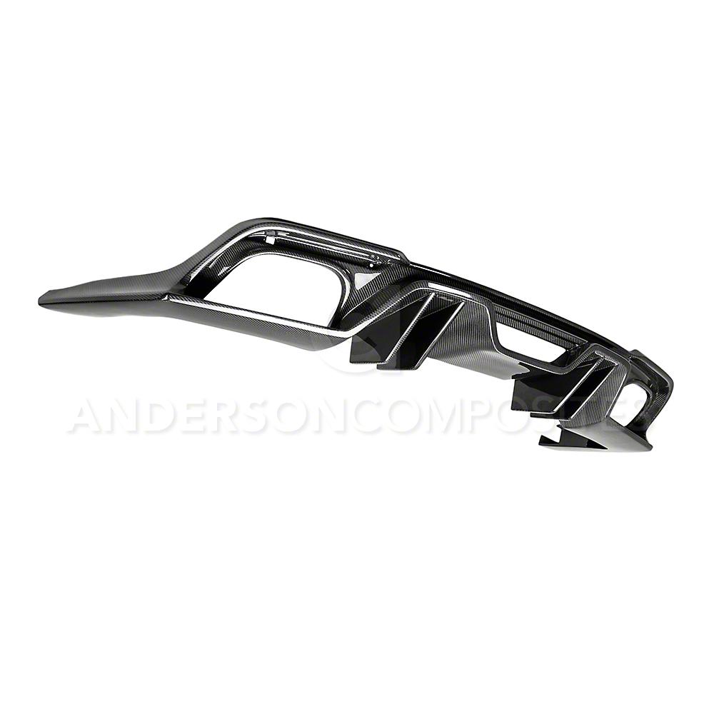 Anderson Composites Type-AR Rear Valance - Carbon Fiber (2018 GT, EcoBoost)
