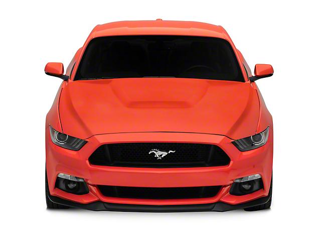 Anderson Composites Type-GR GT350 Style Hood; Unpainted (15-17 GT, EcoBoost, V6)
