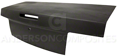 Anderson Composites Type-OE Trunk - Dry Carbon Fiber (05-09 All)