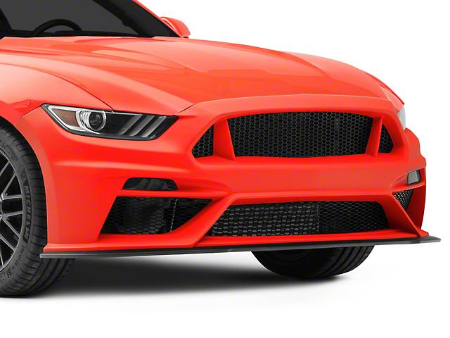 Anderson Composites Type-TT GT500 Style Front Fascia; Fiberglass (15-17 GT, EcoBoost, V6)