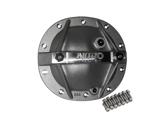 Nitro Gear & Axle Differential Cover; 7.5-Inch (94-10 V6)