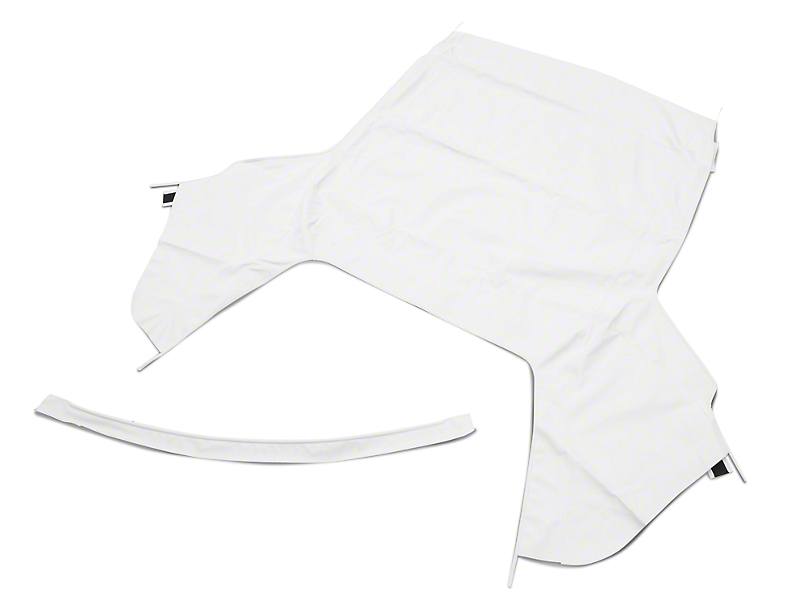 OPR Convertible Top Only - Pinpoint White (91-93 Convertible)