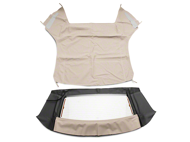 OPR Convertible Top w/ Heated Glass - Sailcloth Parchment (94-04 Convertible)