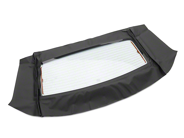 OPR Curtain w/ Heated Glass - Sailcloth Black (94-04 Convertible)