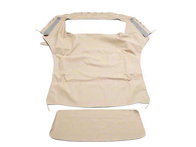 OPR Convertible Top w/ Plastic Window - Sailcloth Parchment (94-04 Convertible)