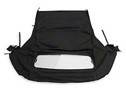 OPR Convertible Top with Heated Glass; Sailcloth Black (05-14 Convertible)