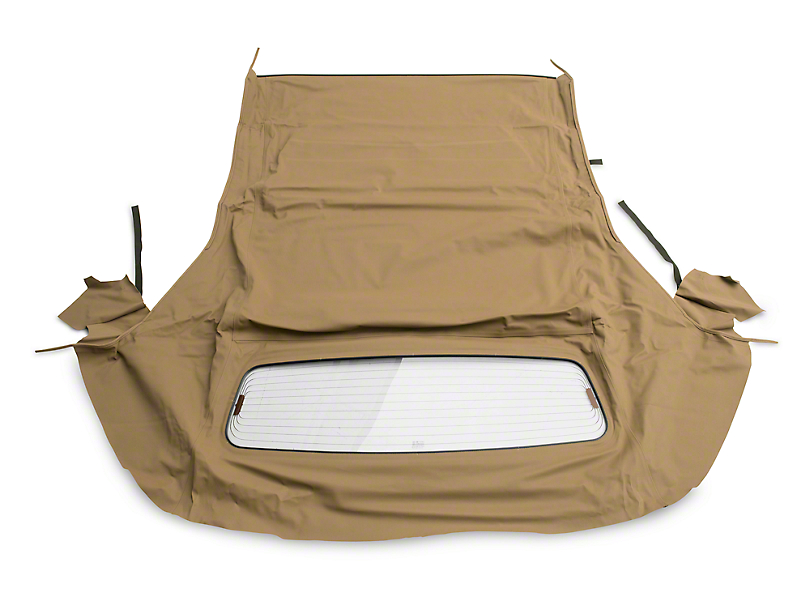 OPR Convertible Top w/ Heated Glass - Sailcloth Saddle (05-14 Convertible)