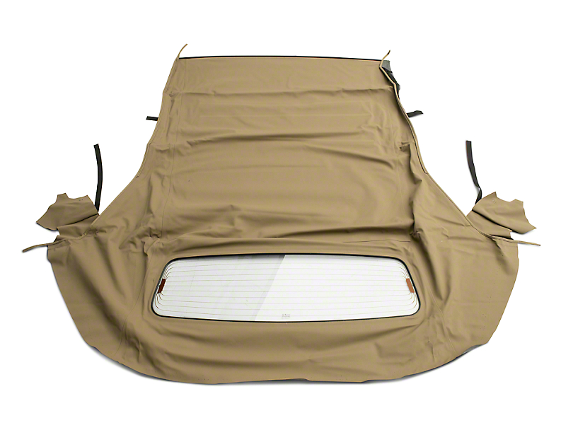 OPR Convertible Top with Heated Glass; Sailcloth Parchment (05-14 Convertible)