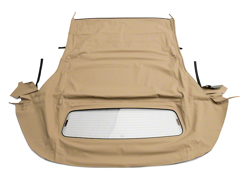 OPR Convertible Top with Heated Glass; Sailcloth Camel (05-14 Convertible)