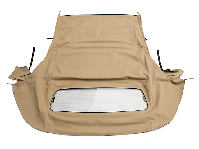 OPR Convertible Top w/ Heated Glass - Sailcloth Camel (05-14 Convertible)
