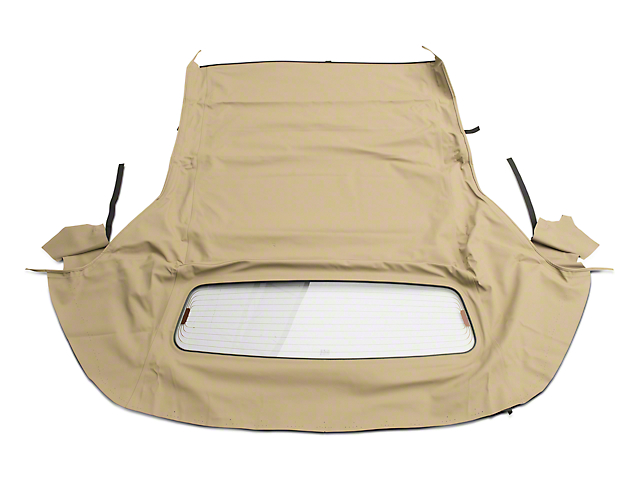 OPR Convertible Top with Heated Glass; Twill Vinyl Camel (05-14 Convertible)