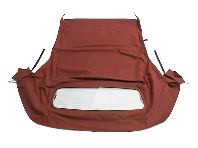 OPR Convertible Top w/ Heated Glass - Twill Vinyl Bordeaux (05-14 Convertible)
