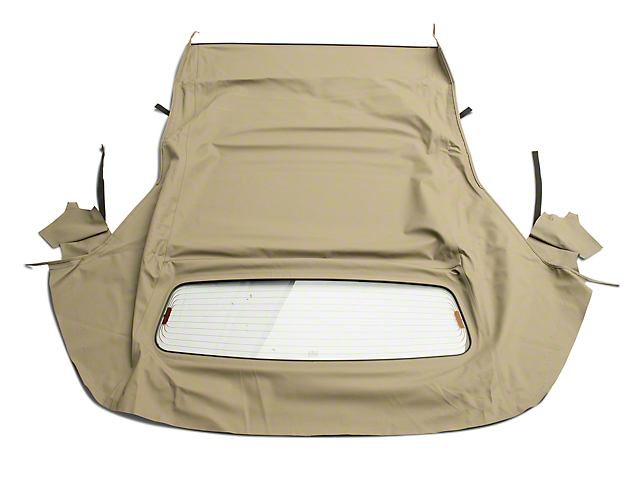 OPR Convertible Top w/ Heated Glass - Twill Vinyl Stone (05-14 Convertible)