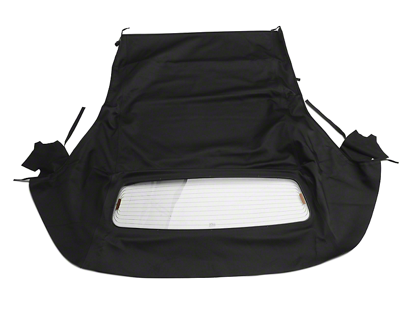 OPR Convertible Top w/ Heated Glass - Twill Cloth Black (05-14 Convertible)
