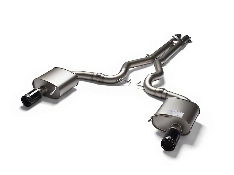 Remus Race Cat-Back Exhaust w/ Black Chrome Tips (15-17 GT)