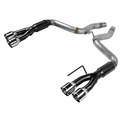 Flowmaster Outlaw Axle-Back Exhaust w/ Polished Tips (18-19 GT w/o Active Exhaust)