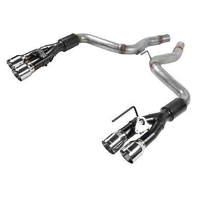 Flowmaster Outlaw Series Axle-Back Exhaust w/ Polished Tips (2018 GT w/ Active Exhaust)