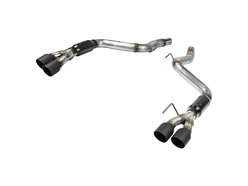 Flowmaster Outlaw Axle-Back Exhaust w/ Black Tips (18-20 GT w/o Active Exhaust)