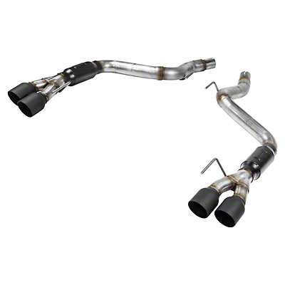 Flowmaster Outlaw Axle-Back Exhaust w/ Black Tips (18-19 GT w/o Active Exhaust)